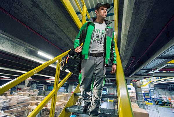 Hagebau Workwear 2015 – Lagerhalle