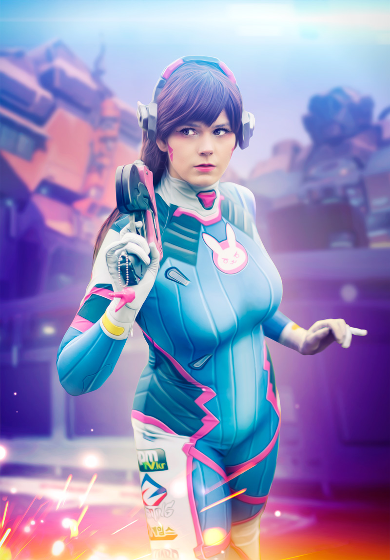 After-D.Va Cosplay