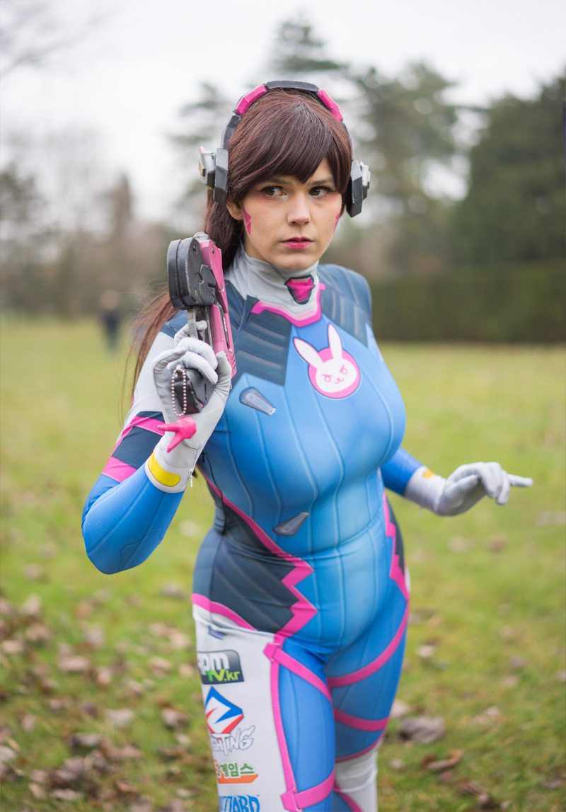 Before-D.Va Cosplay