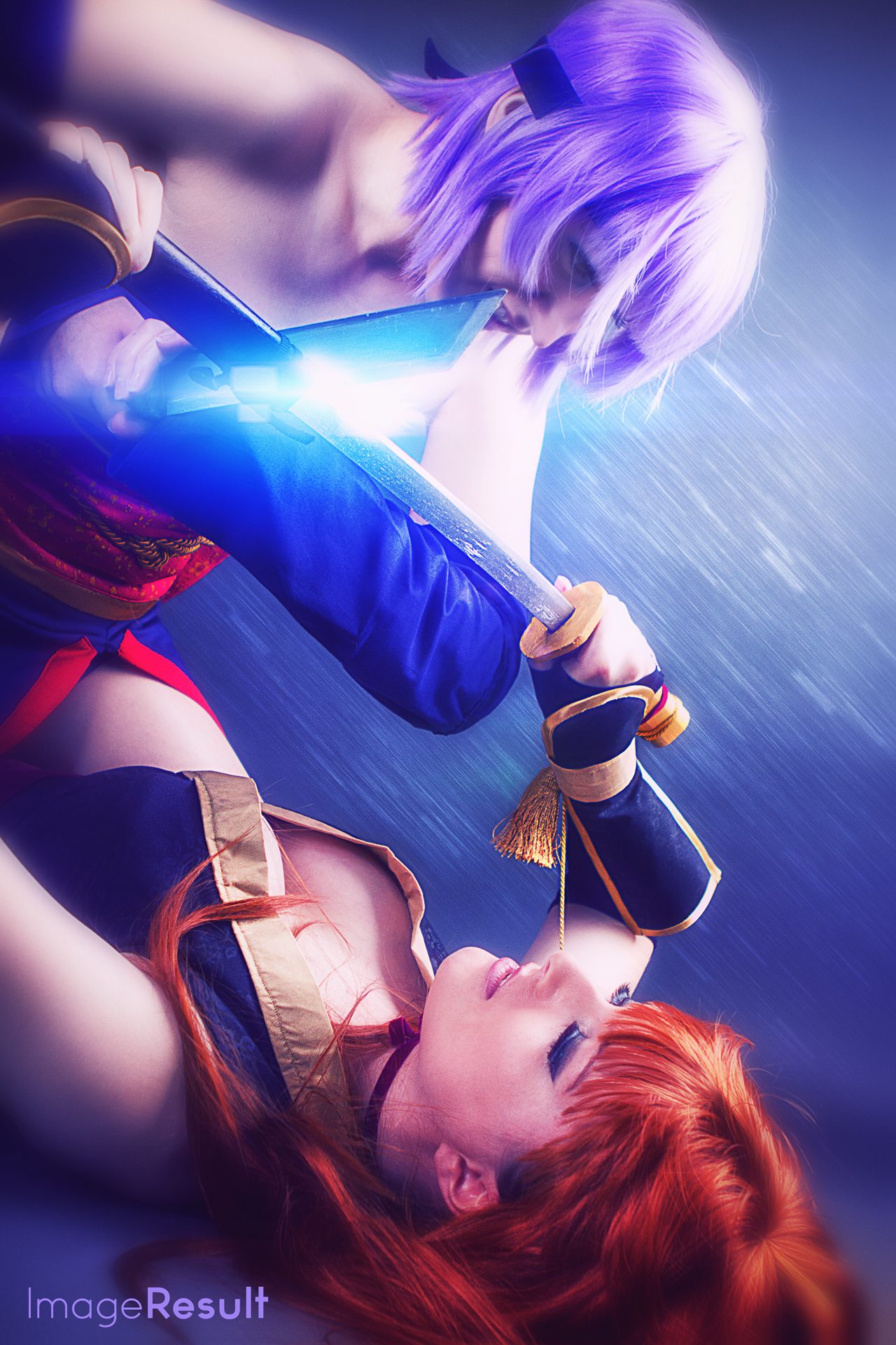 DoA Cosplay by Bunny_doll & Dezembi