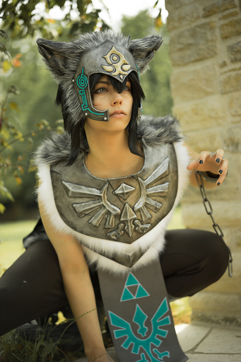 Before-Wolf Link Cosplay
